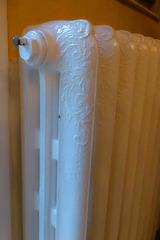 alter Gußheizkörper /vintage cast stock radiator
