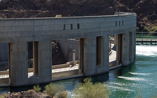 Parker Dam, Colorado River  (0697)