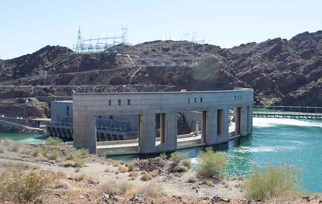 Parker Dam, Colorado River  (0696)