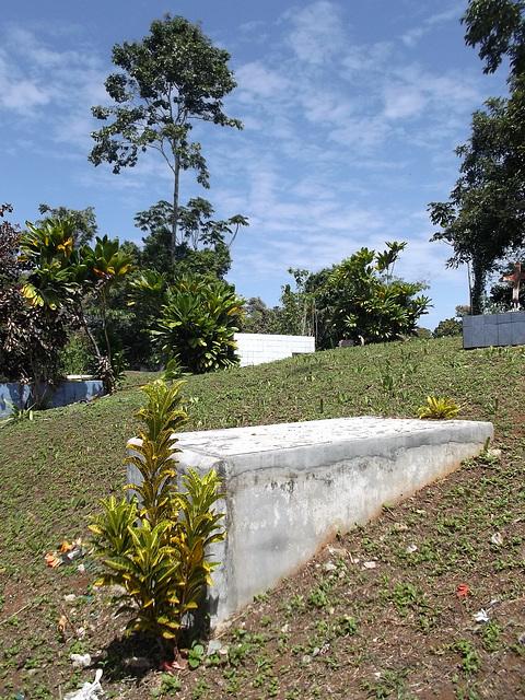 Cimetière caribéen / Caribbean cemetery.