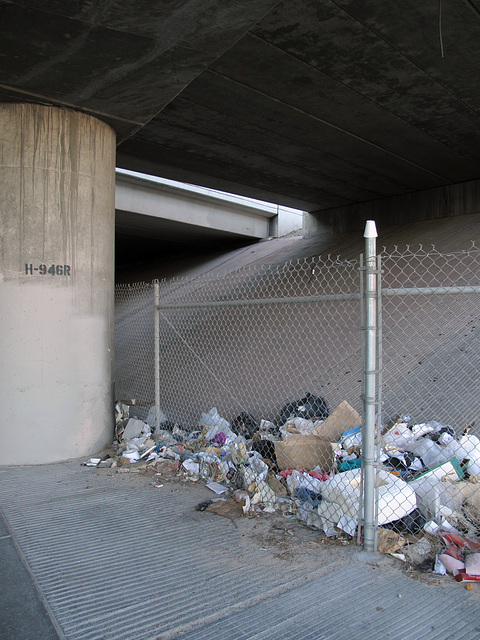My visit to the underneath of Interstate 515 in downtown Las Vegas on the day after thanksgiving.