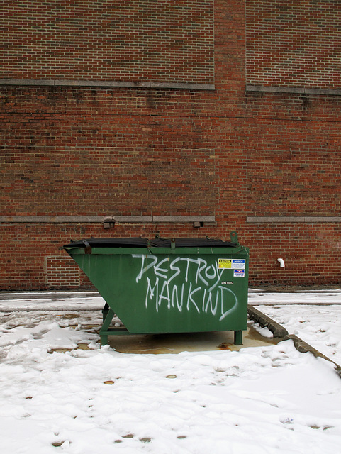 Oh come now don't be silly you silly old dumpster.