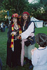 "Wench and ""Captain"" Jack Sparrow at the Fort Tryon Park Medieval Festival, Oct. 2004"