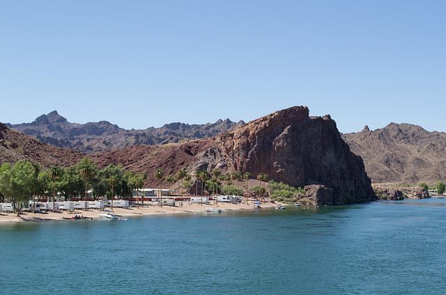 Parker, AZ: Colorado River & California (0683)