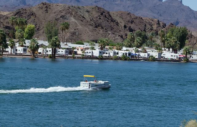 Parker, AZ: Colorado River & California (0682)