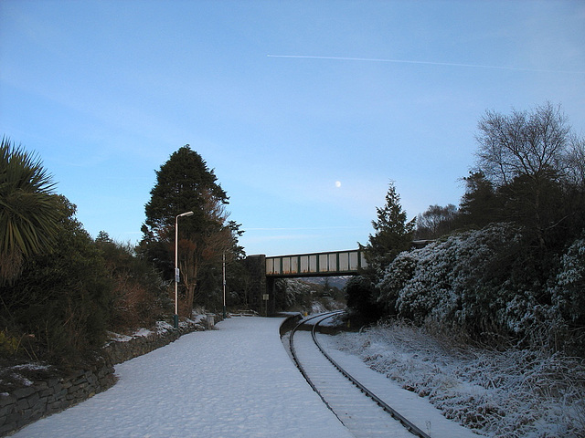 A winter's afternoon at Plockton station