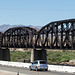 Parker, AZ: Arizona & California RR bridge  (0669)