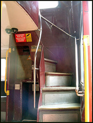 bus stairs