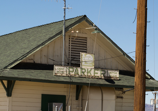 Parker, AZ: Arizona & California RR  (0664)