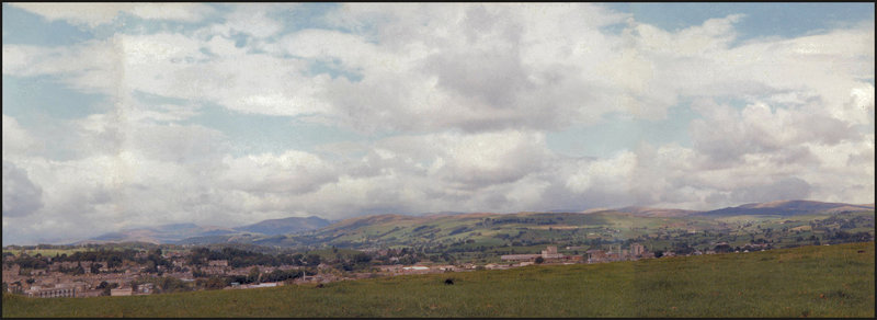 view from Kendal Castle