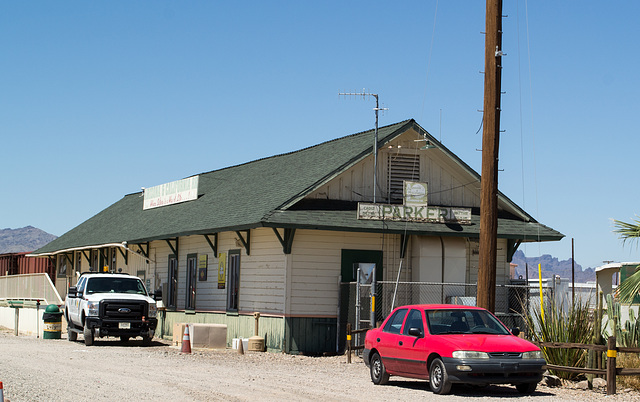 Parker, AZ: Arizona & California RR  (0663)