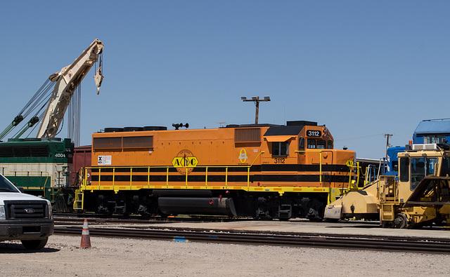 Parker, AZ: Arizona & California RR  (0661)