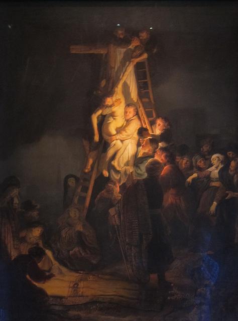 Abnahme vom Kreuz