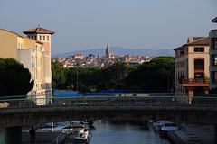 FREJUS: vue depuis Port-Fréjus.