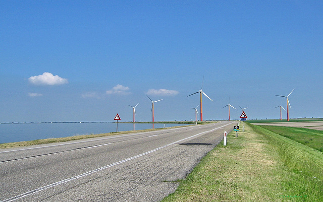 Windmills of Today, Almere, The Netherlands