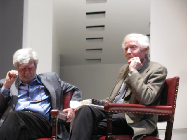 Stanley Plumly and W.S. Merwin