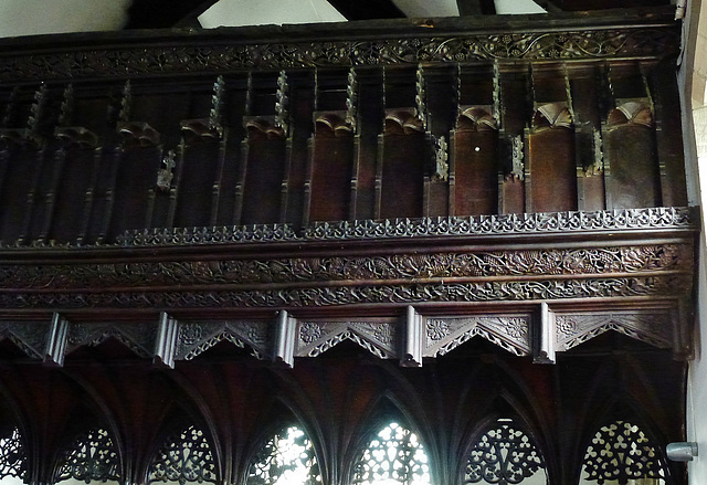 llanwrst church, clwyd
