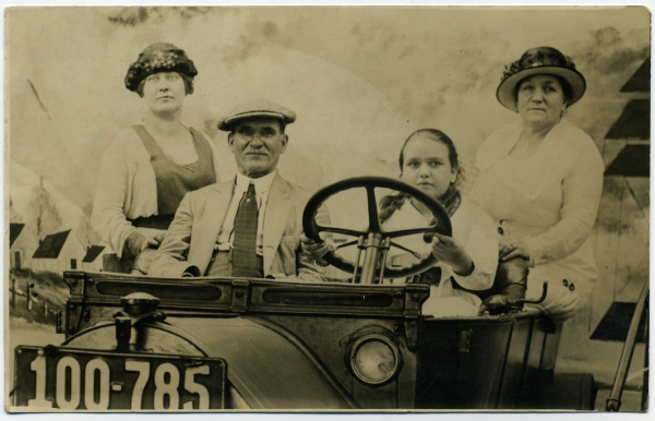 First Time I Ever Saw Grandma and Grandpa, Palisades Park, 1920