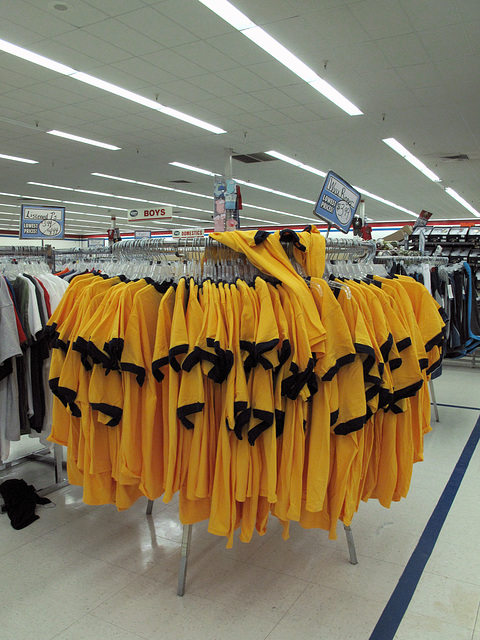 Go 'Eers!, rack of remaindereds of West Virginia University.