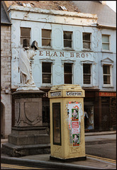 Irish telephone box