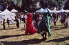 Dancing Mummers at the Fort Tryon Park Medieval Festival, Oct. 2005