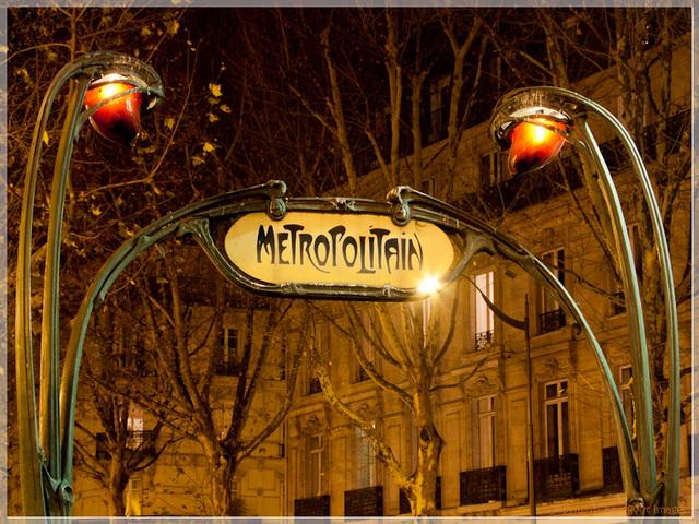paris - métropolitain