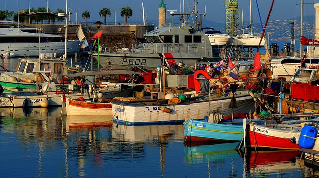 Saint-Raphaël: Le vieux port.