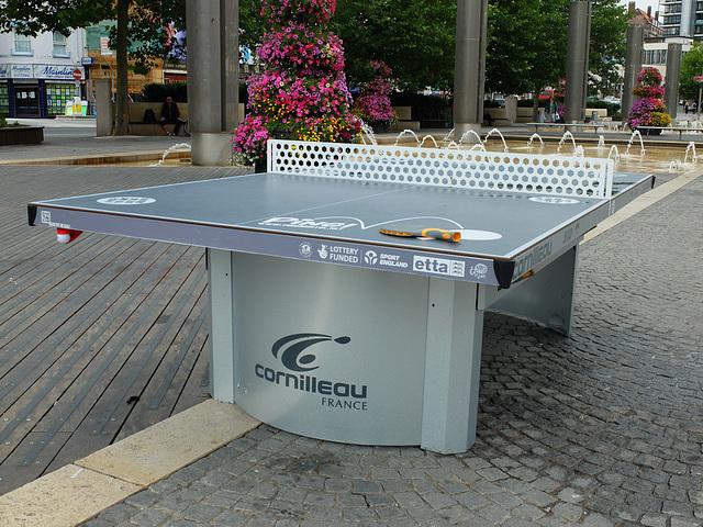 Public Table Tennis - 7 August 2013