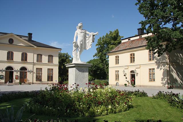 Platz vor dem Schlosstheater Drottningholm