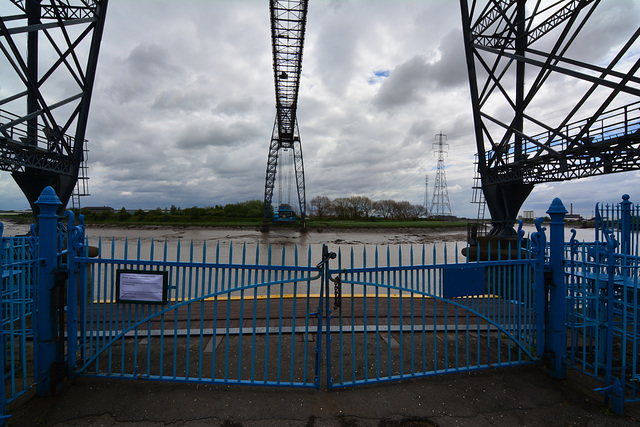 Transporter Bridge in Newport 2013