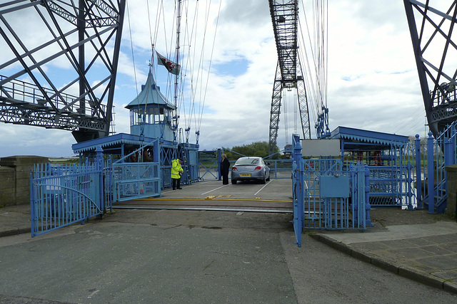 Transporter Bridge in Newport 2013