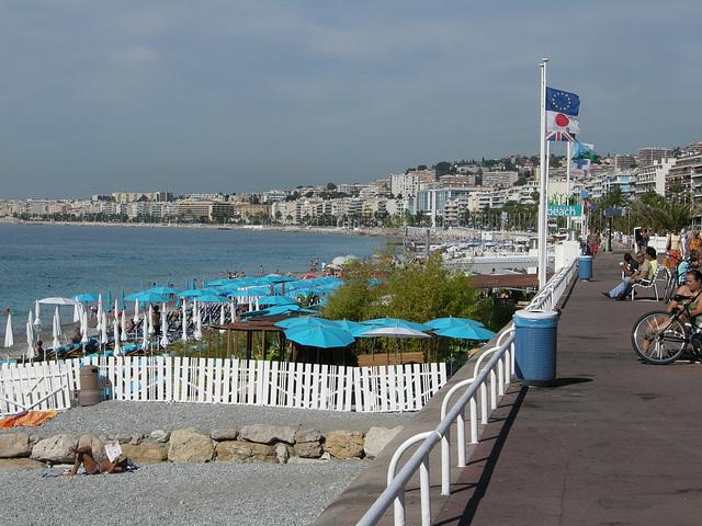 NICE: La Promenade des Anglais.