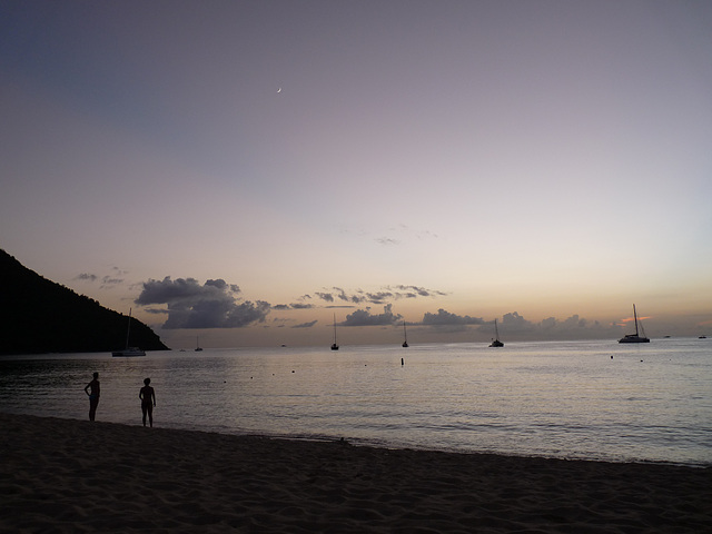 beach twillight