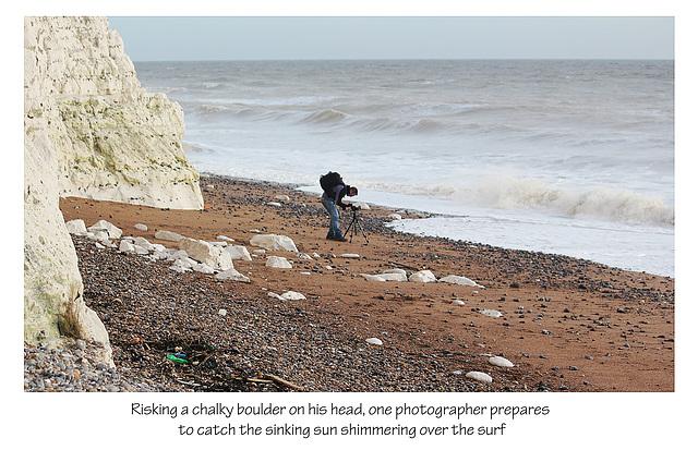 Haven Brow photographer -  Cuckmere - 3.2.2014