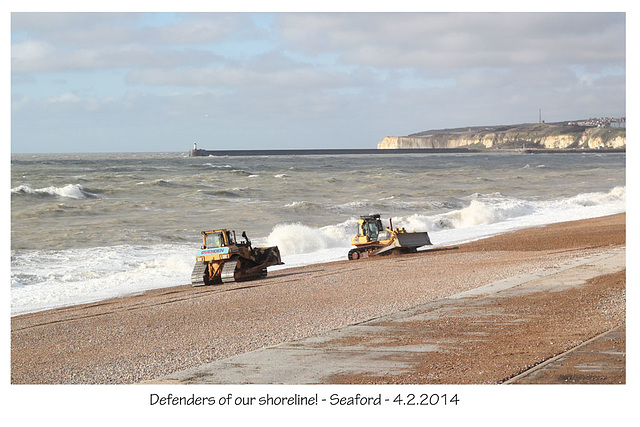 Defenders of our shore - Seaford - 4.2.2014