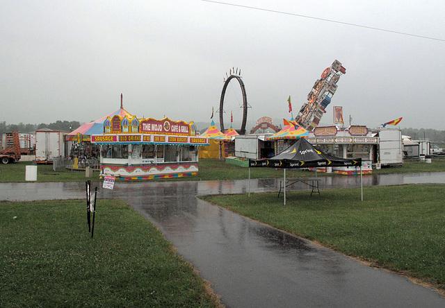 Ruined carnival.