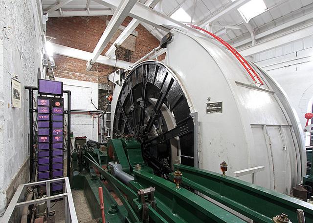 Pleasley Colliery winder
