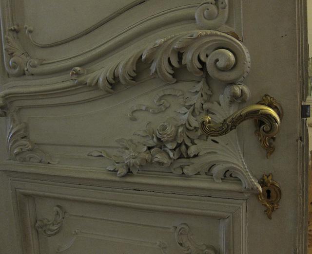 Detail einer Tür der Eremitage