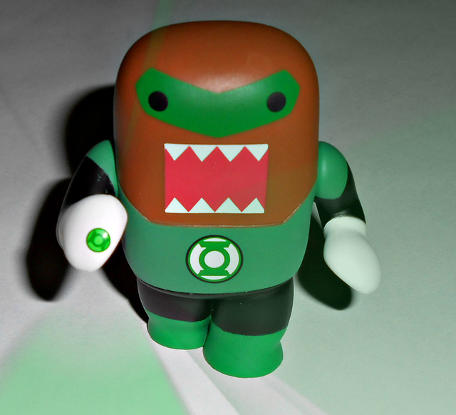 green lantern from planet domo