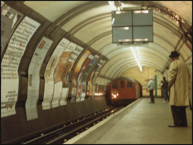 old red tube train