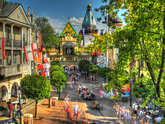 RUST: Europapark: Alexander Avenue.