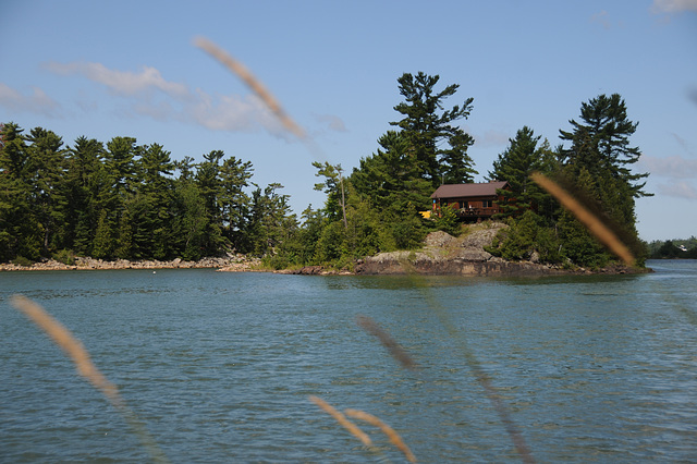 Small Island between Pine and Forshaw