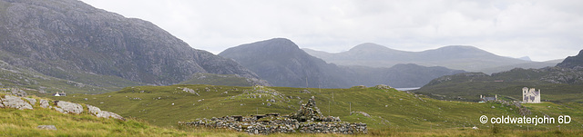 The mountains behind Uig