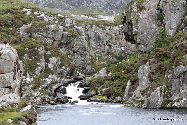 Waterfall near Uig