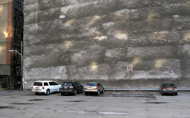 Favorite wall to park in front of.