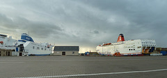 Rosslare 2013 – Ferries at Rosslare