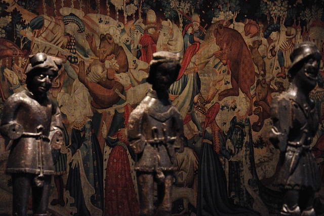 The Devonshire Hunting Tapestries; Boar and Bear Hunt