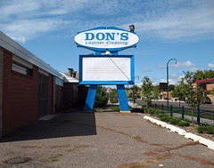 Don's Leather Cleaning is out stomping around in south Minneapolis.