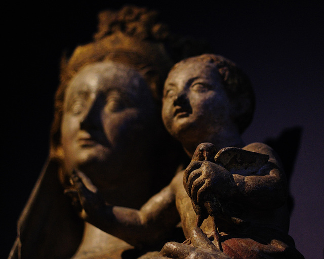 Virgin and Child with Goldfinch