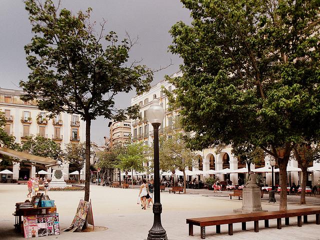 Girona - Plaça de la Independència